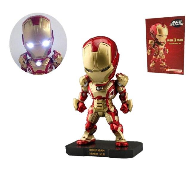 Action figure De Avengers Ironman 3 Rode kleur verlichting leuke ...