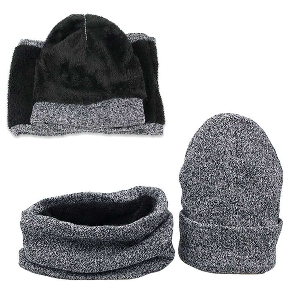 Men's Knit Cap Scarf Men's Hat Scarf Set Suitable For Any Casual Occasions Casual Fashion Joker Warm Durable Not Easy To Deform