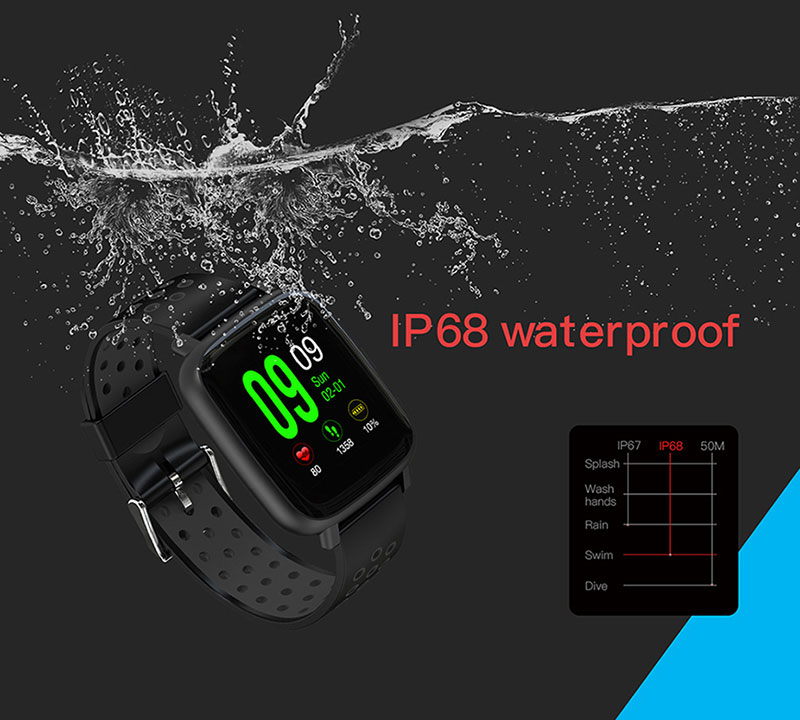 VERYFiTEK SN12 Smart Watch IP68 Waterproof Heart Rate Monitor Blood Pressure Bluetooth Smartwatch Men Women Sport Fitness Watch (2)