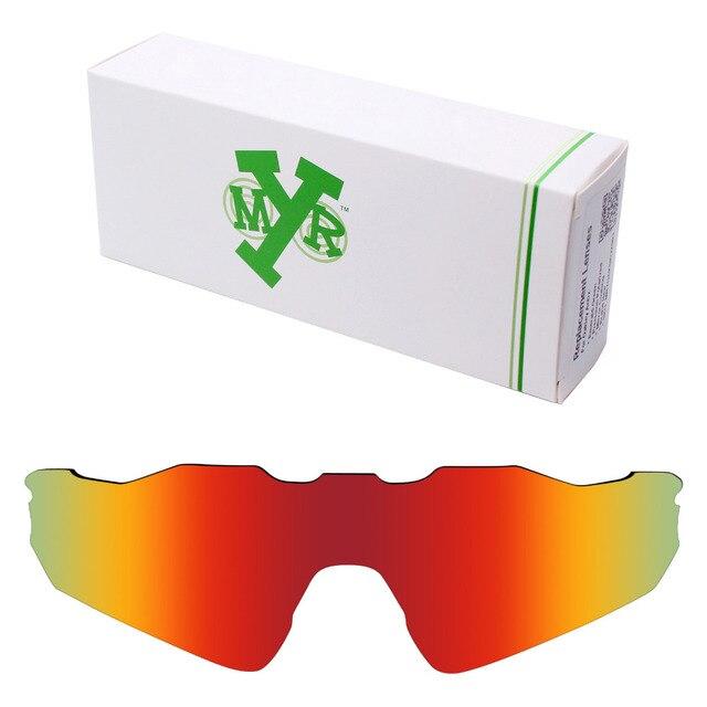 Lentes de repuesto polarizadas Mryok para gafas de sol Oakley Radar EV Path  rojo fuego b814526f38