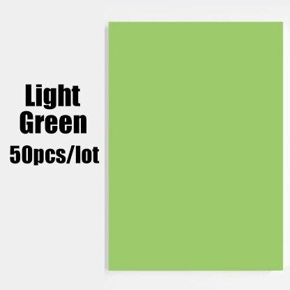 Free shipping a4 paper printer tracing copy paper 10 Color 50pcs/lot a4 paper 80gsm Children Handwork DIY Card Scrapbook drop 5