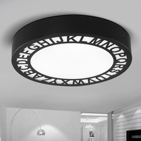 Modern simple ceiling light children creative bedroom alphabet stairs kitchen lamps Nordic personality LED dome light ZA1118146