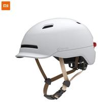 Flash Helmets Matte Long Use Helmet Back Light Mountain Road Scooter For Men Women New Xiaomi Smart4u Waterproof Bicycle Smart