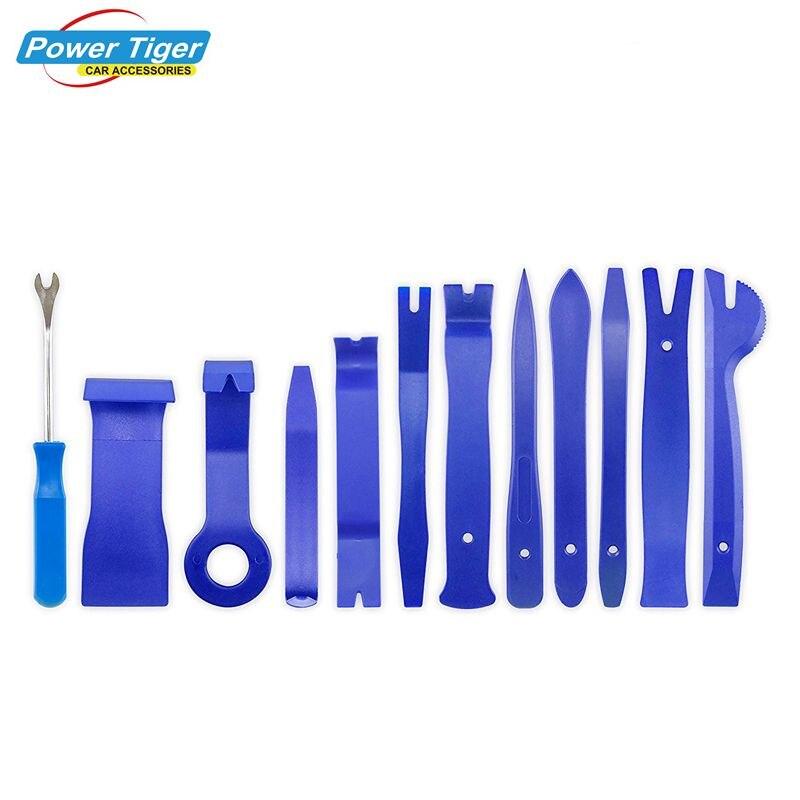 5/12Pcs Car Auto Trim Removal Tool Kits for Car Radio Installation  Upholstery Removal Kit Pry Bar Scraper Set Car Repair Tool