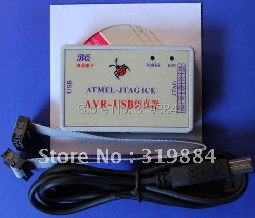 Miễn Phí Vận Chuyển AVR-USB Lập Trình JTAG ICE Emulator Hỗ Trợ 3 3 V & 5 V  Điện Áp Đầu Ra BSL (BEST OFFER June 2019)