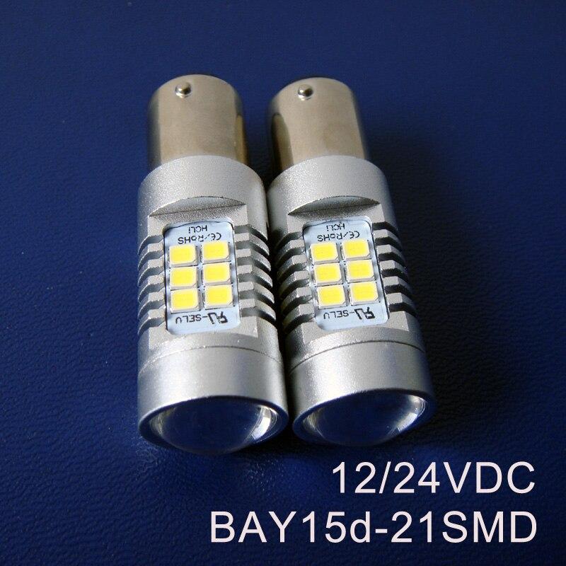 High quality 12 24VDC 10W BAY15d BAZ15d P21 5W 1157 Truck Freight Car LED Stoplight Led