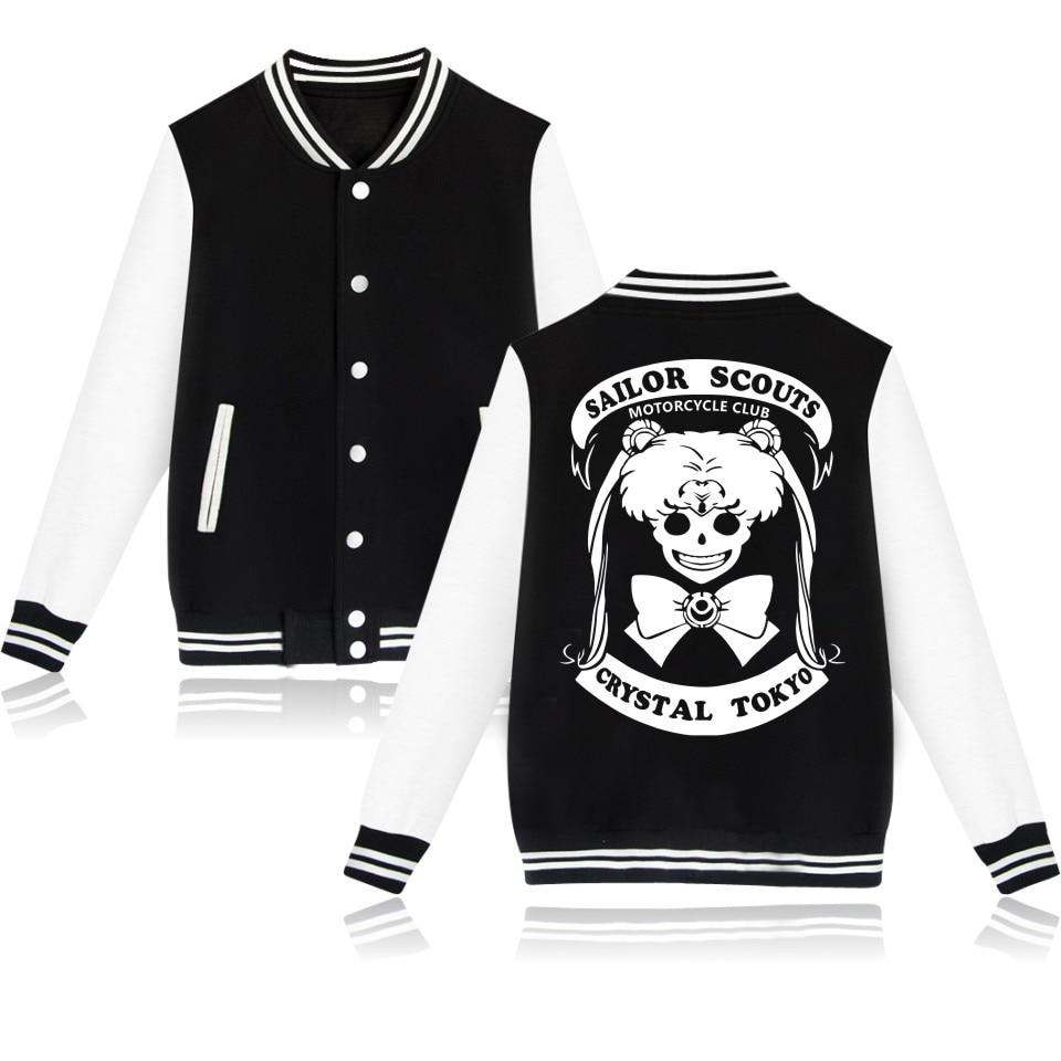 Sailor Moon Print Logo Cool Fashion Women Jacket Fashion Style Print Jacket For Women Jacket Coat Clothes