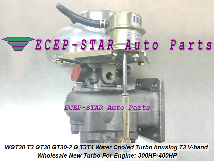 WGT30 T3 GT30 GT30-2 G T3T4 Turbo Turbocharger Turbine housing T3 V-band Water Cooled 300HP-400HP (2)