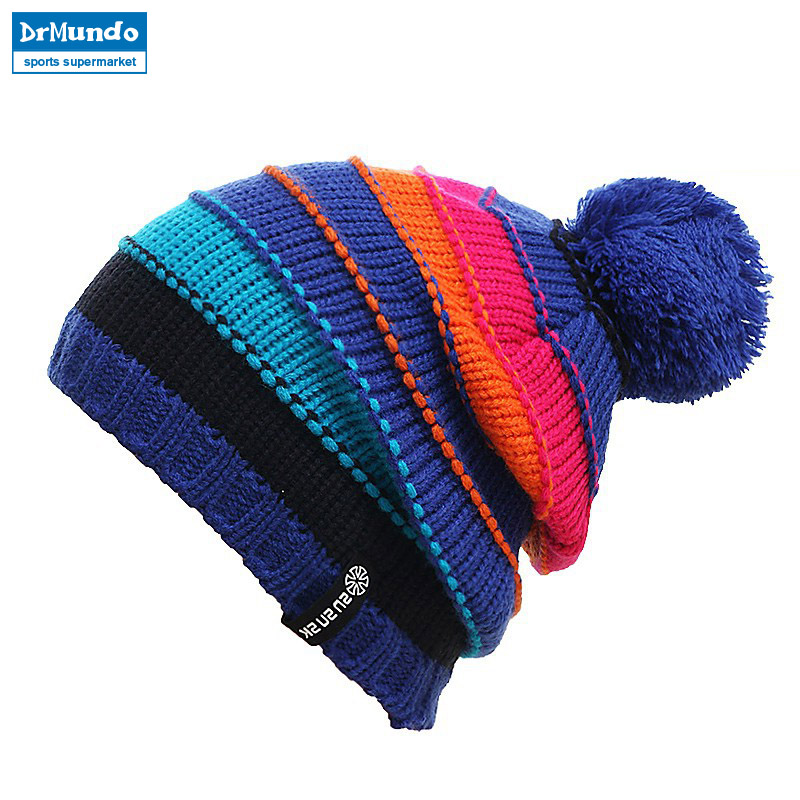 2018 Gorros Snowboard Winter Skating Lot Caps Knitted Ski Hats Skullies And Beanies For Men Women Hip Hop Caps