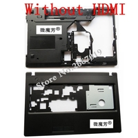 New Case Cover For Lenovo G570 G575 LCD Bezel Cover Laptop Bottom Base Case Cover Without