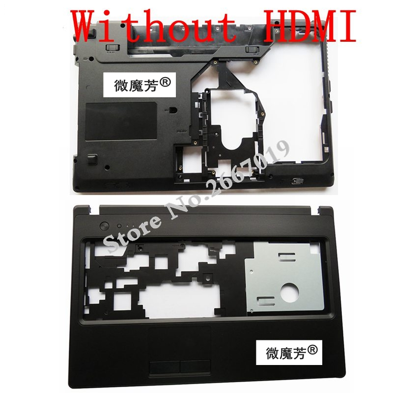 New Case Cover For Lenovo G570 G575 LCD Bezel Cover/Laptop Bottom Base Case Cover Without HDMI