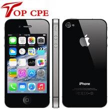 Iphone 4S завод разблокированный Apple Iphone 4S 8 GB/16 gb/32 gb/64 gb 3,5 ''8MP 3G GSM WCDMA WIFI GPS IOS мобильный телефон б/у