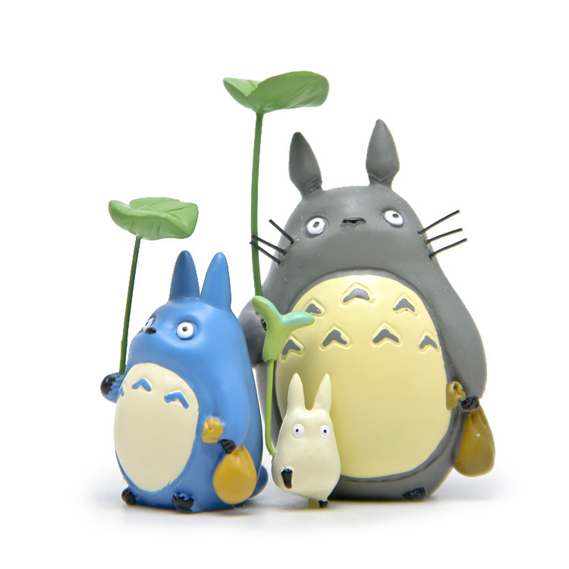 Aliexpress.com : Buy 1pcs Totoro With Leaf Action Figure ...