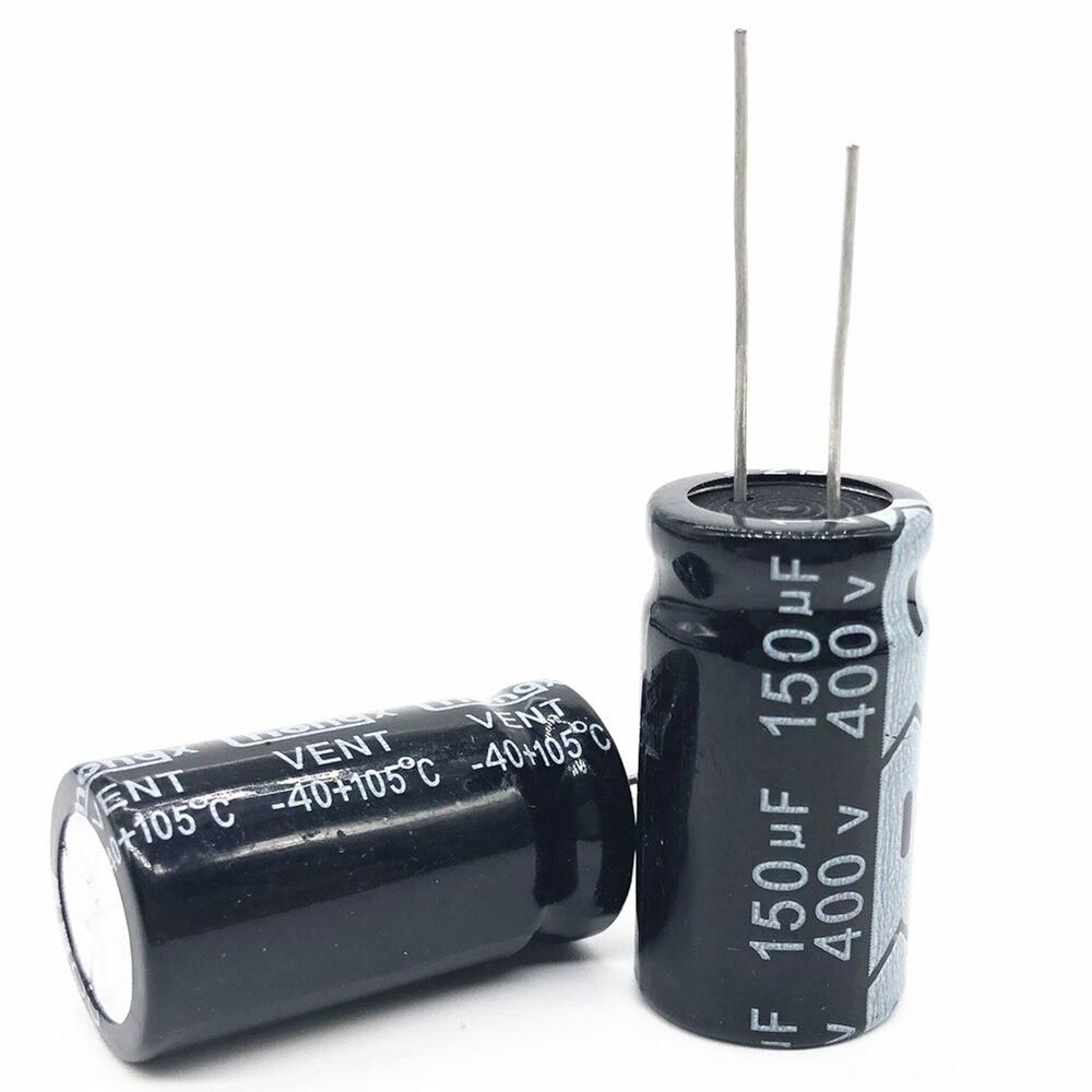10pcs/lot 400V 150UF  18*35 20% RADIAL Aluminum Electrolytic Capacitor 150000NF 20%