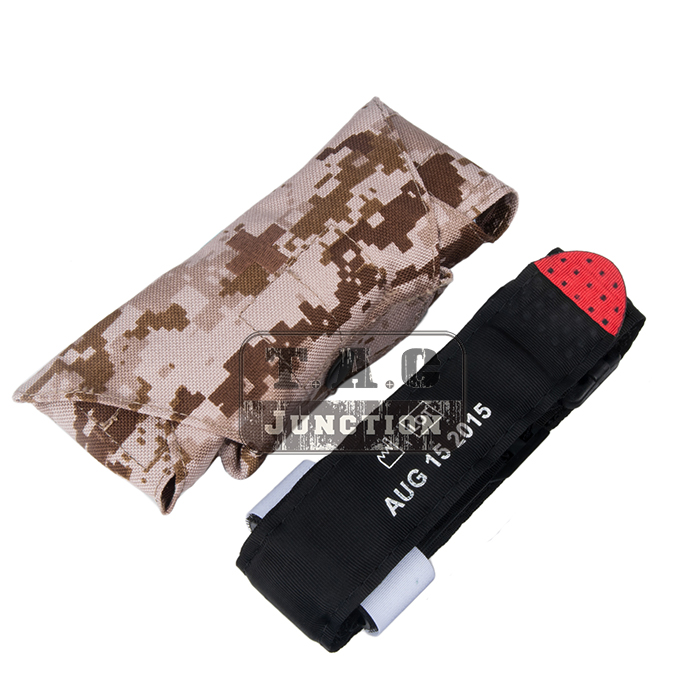 Emerson Tactical Medic Issued Tourniquet QH Application Tourniquet Pouch EmersonGear One-handed Rescue Bandage Carrier