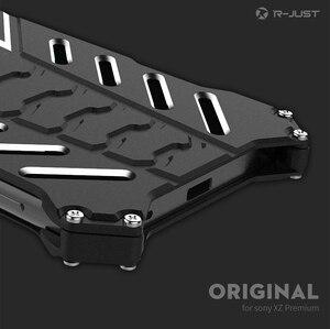 """Image 5 - Dla Sony XZ etui Premium R JUST luksusowe miejsca Aluminium metalowe etui do Sony xperia XZ Premium 5.5 """"obudowa telefonu komórkowego Coque"""