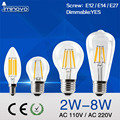 IMINOVO E27 E14 LED Edison Bulb Dimmable Vintage Retro 4W 6W 8W AC 110V 220V LED Filament Light Candle Bulb Light Lamp Warm/Cool