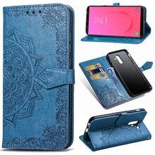 PU Leather Flip Case For Samsung Galaxy J8 J7 J6 J5 J4 J3 J2 J1 2018 2016 2017 Core Pro Plus Prime Mobile Phone Wallet Cover Bag все цены