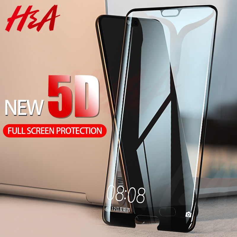 H&A 5D Full Cover Screen Protector <font><b>Glass</b></font> For Huawei P20 Lite <font><b>Pro</b></font> P10 Plus <font><b>Tempered</b></font> <font><b>Glass</b></font> On The <font><b>Honor</b></font> 9 <font><b>8</b></font> Lite Protective Film image