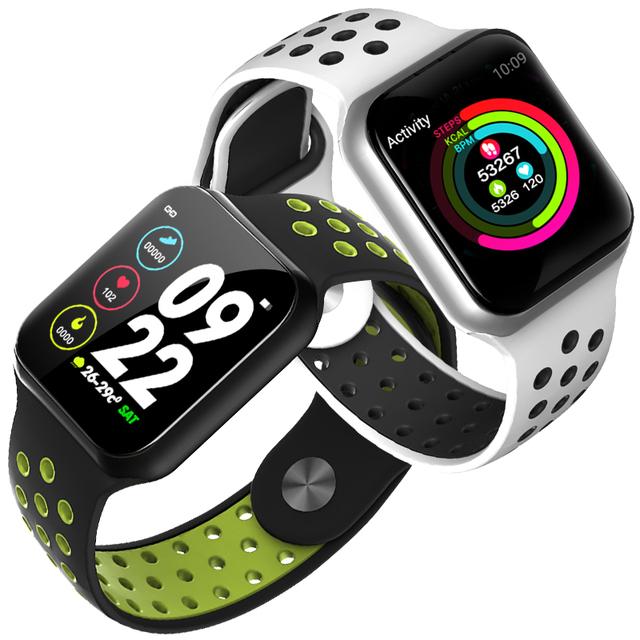 Rectangular Silicone Fitness Tracker