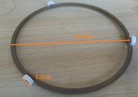 Microwave Oven Parts Roller Ring For Rotary Glass Plate 19 8cm Diameter