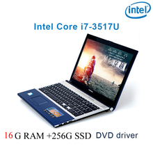 """P8-26 black 16G RAM 256G SSD i7 3517u 15.6 gaming laptop DVD driver keyboard and OS language available for choose"""""""