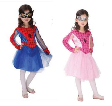 Baby Children Girls Spiderman Costume Halloween Costumes For Kids Party Cosplay Carnival Superman Clothing