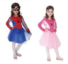 Baby Children Girls Spiderman Costume Halloween Costumes For Kids Party Cosplay Carnival Costume Superman Clothing цена 2017