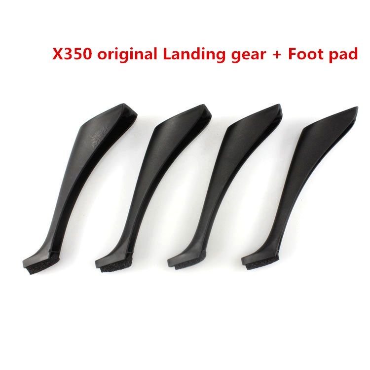 Free shipping X350 Landing gear with Foot pad Spare Parts for XK X350 RC Quadcopter XK