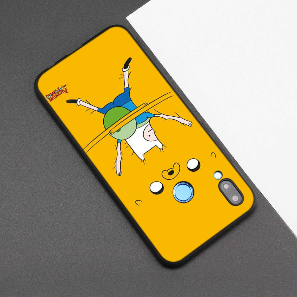 Silicone Case Cover for Huawei P20 P10 P9 P8 Lite Pro 2017 P Smart+ 2019 Nova 3i 3E Phone Cases Adventure Time with Finn and Jak