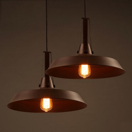 Nordic Edison Loft Style Industrial Wind Vintage Pendant Light Fixtures For Dining Room Iron Hanging Lamp Lamparas Colgantes iwhd loft style round glass edison pendant light fixtures iron vintage industrial lighting for dining room home hanging lamp