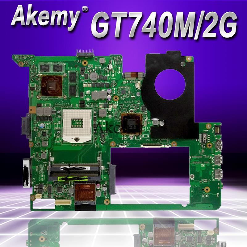 Akemy N76VB Laptop motherboard for ASUS N76VZ N76VM N76VJ N76V Test original mainboard GT740M 2GB HM76Akemy N76VB Laptop motherboard for ASUS N76VZ N76VM N76VJ N76V Test original mainboard GT740M 2GB HM76