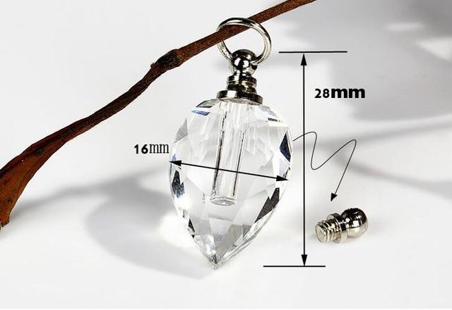 1pcs/lot heart shape crystal penda