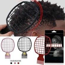 Afro Kamm Lockiges Haar Schmutzig Pinzette Männer Schwarz Professionelle Kamm Dauerwelle Stil Afrikanischen Weben Schmutzige Pinzette Kamm Werkzeug