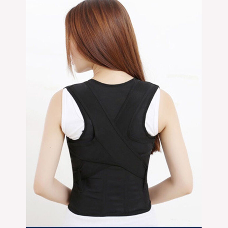 2019 Men Women Adjustable Posture Corrector Shoulder Back Brace Belt Cummerbunds Accessories New Hot