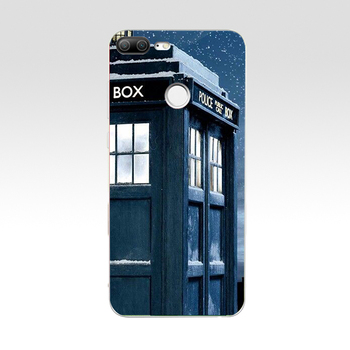 Tardis In snow Doctor Who Phone Case for Huawei Honor  7