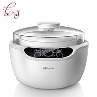 Household 1.2L Automatic porridge pot Electric Cookers Slow Cooker 220V Mini Casserole Cooker Electric Stoves DDZ A12A1 1pc