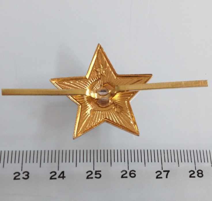 Rusia Uni Soviet Topi Lencana Kerah Pin Vintage Antik Klasik Retro Logam Lencana Tentara Koleksi Souvenir Tentara Merah Bintang