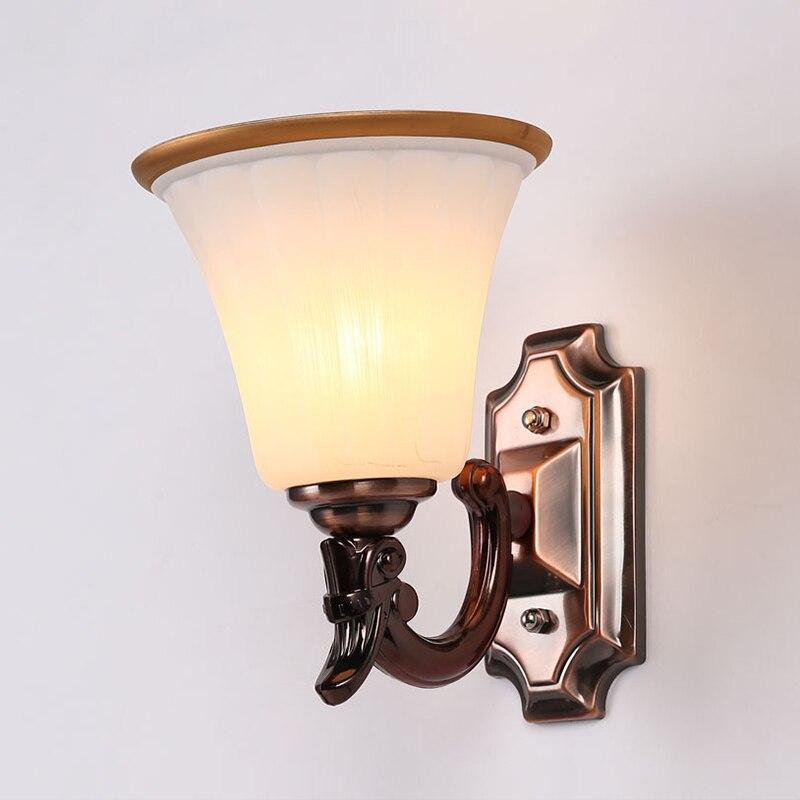 Applique E27 applique murale foyer chambre escaliers couloir couloir balcon extérieur jardin classique appliques paquet sans ampoule