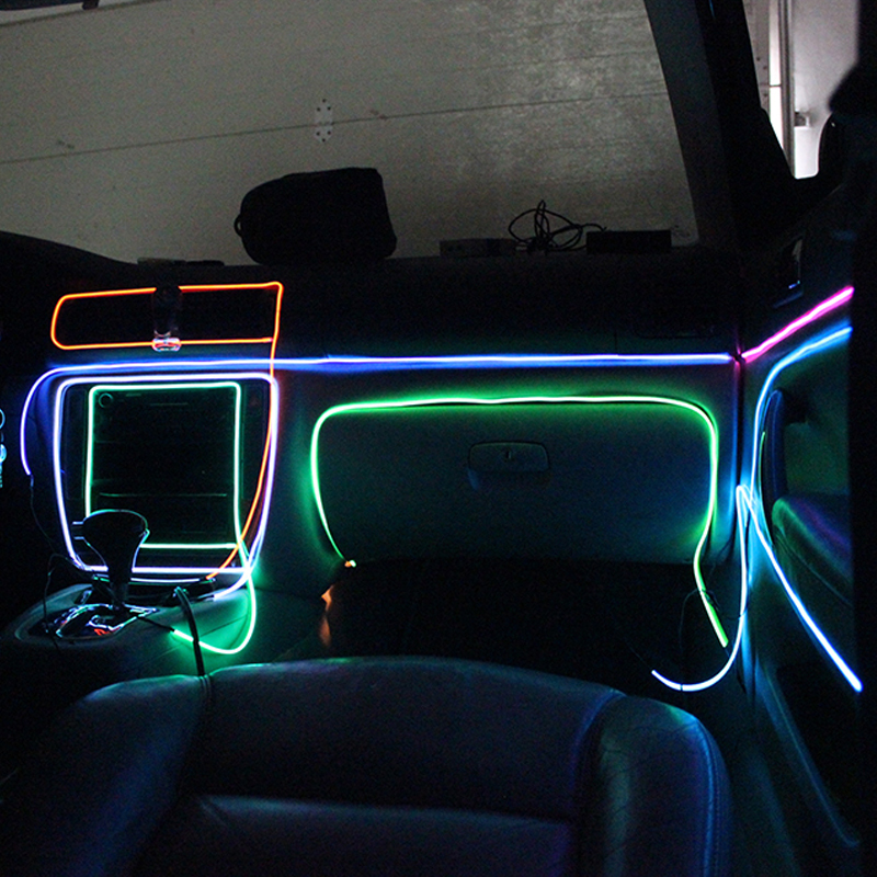 Electroluminescent Flexible EL Wire Internal Cold Neon Light for Car/Party Decoration Lighting 5m EL Strip-in Decorative L& from Automobiles u0026 Motorcycles ... & Electroluminescent Flexible EL Wire Internal Cold Neon Light for ... azcodes.com