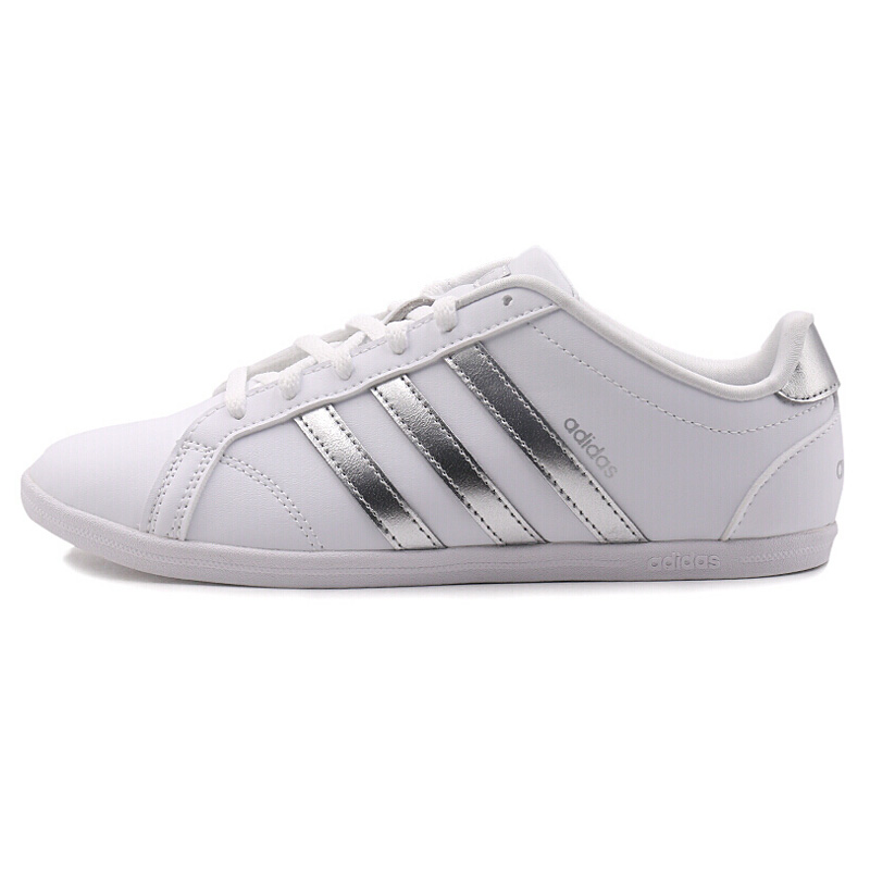Genuine authentic Adidas NEO label CONEO QT womens skateboard shoes flat casual shoes fashion comfortable sports shoes DB0135Genuine authentic Adidas NEO label CONEO QT womens skateboard shoes flat casual shoes fashion comfortable sports shoes DB0135