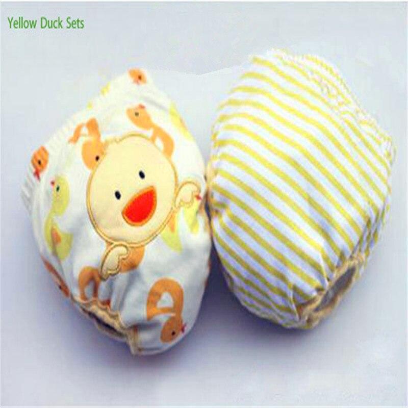 2 unids / lote 4 Capas Impermeable Paño Del Bebé Pañales Boy - Pañales y entrenamiento para ir al baño - foto 3