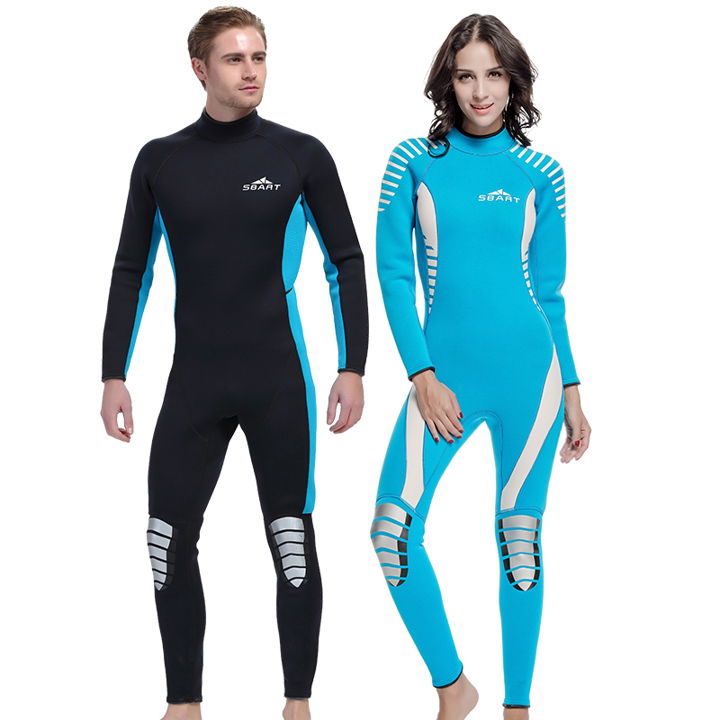 5ead4c14581d Wetsuit neoprene scuba diving suit swimwear wetsuit 3mm tick 2016 NEW  wetsuit one piece set full body swimsuit for women men-in Wetsuit from  Sports ...