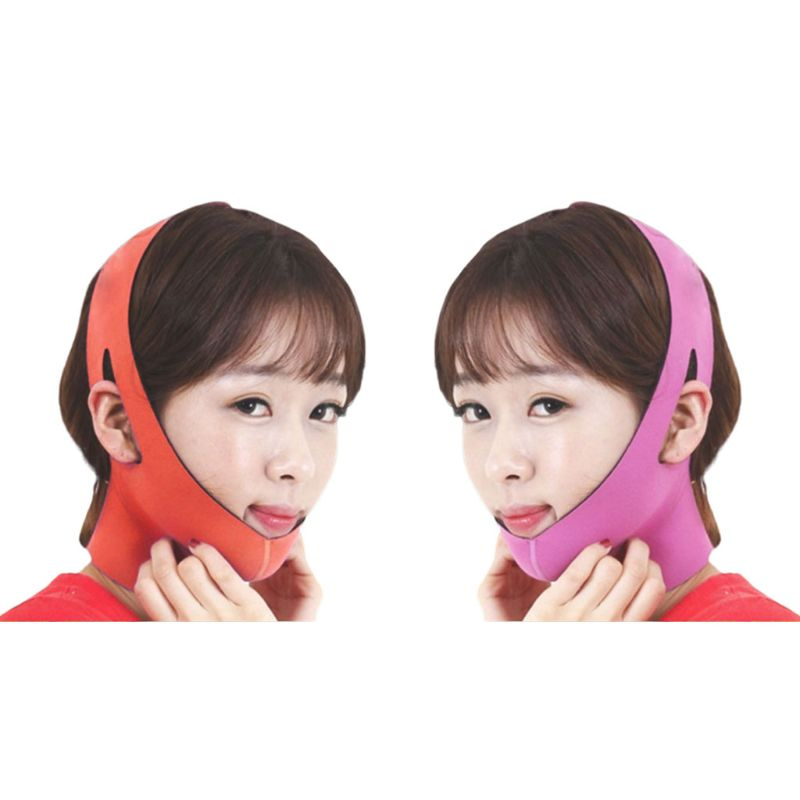 Korean Women Delicate Facial Slimming Bandage Belt V-Face Mask Reduce Double Chin Skin Care Strap Beauty Shaper Face Lift Tools
