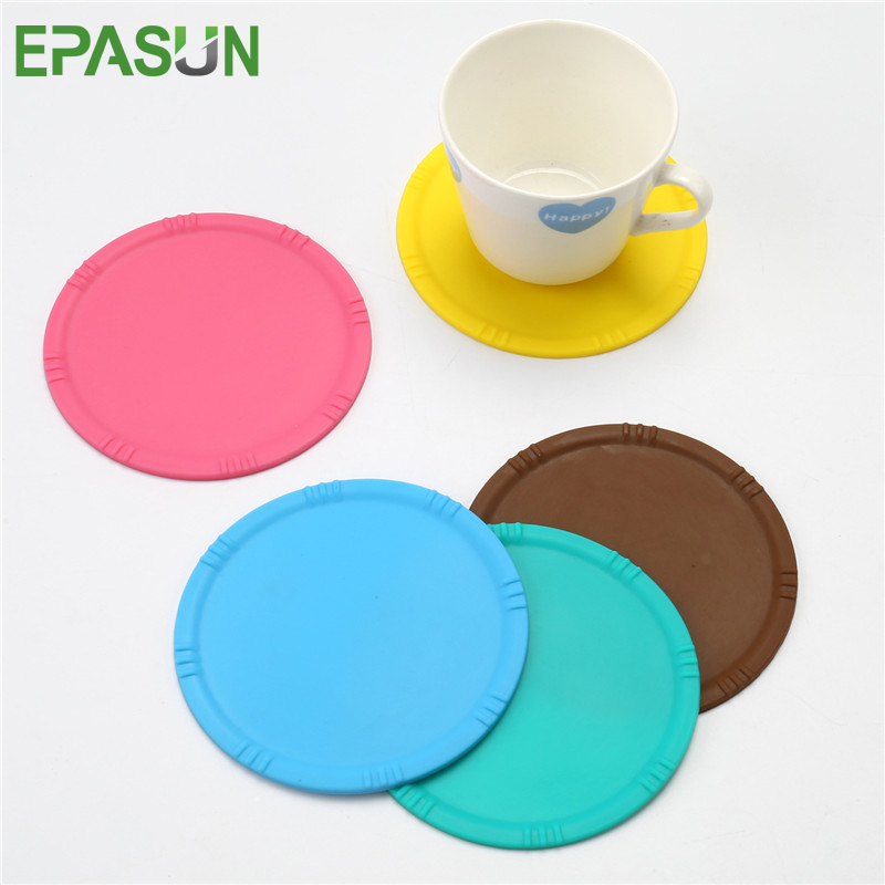EPASUN Non-slip Fruit Placemat Cup Mat Pads Placement Coffee Mug Drink Coasters Dining Table Placemats Pad Desk Accessories