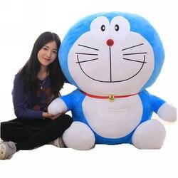 Fancytrader 47 ''Riesen Plüsch Doraemon Spielzeug Große Weiche Angefüllte Anime Doraemon Puppe Kissen 2 Größen Große Valentine Geschenk 120cm FT71004