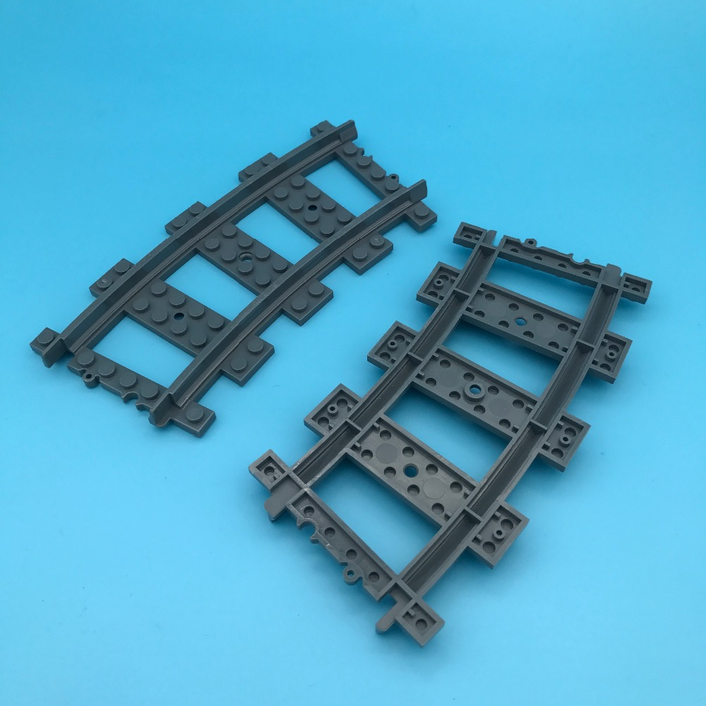 Track Switch 9v Bulk Train Parts Toys Compatible With 53401 74746 2866 28567 Track Plastic rc Trains Straight & Ground Throw