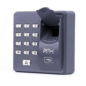 Image 3 - Cyfrowy elektryczny czytnik RFID finger kod skanera system biometryczny system kontroli dostępu z czytnikiem linii papilarnych X6 + 10 sztuk piloty