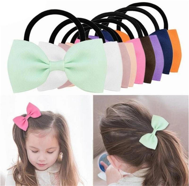 Girly foe girly elastic fashion hair ties fashion foe inspired girly ribbon Bows