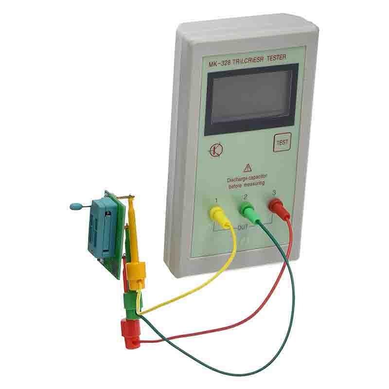 MK-328 TR \ LCR \ ESR Transistor LCR ESR Tester Analizzatore Dispositivo Cemiconductor